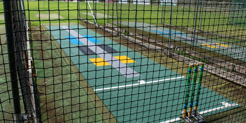 Skills Batting end in nets