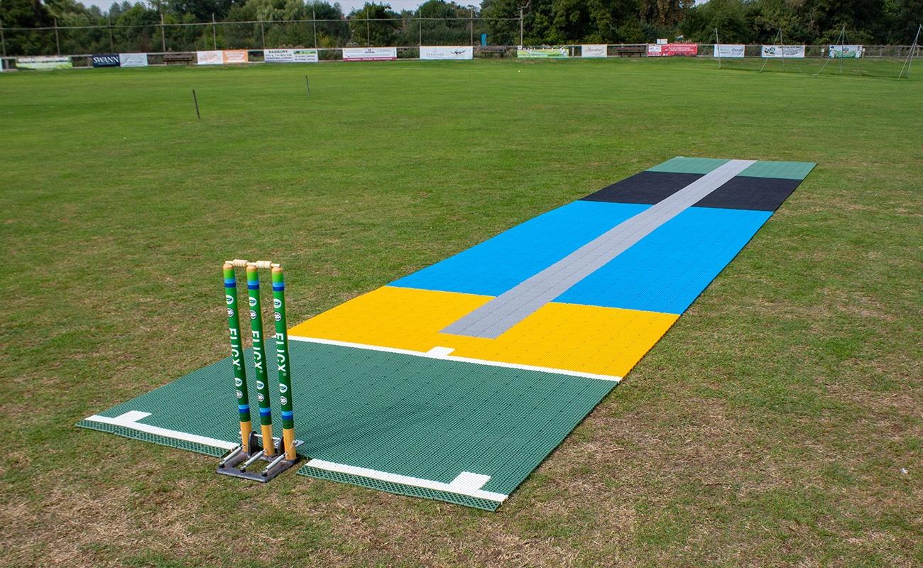 2G Flicx 10m Eagle Eye Cricket Coaching Batting End