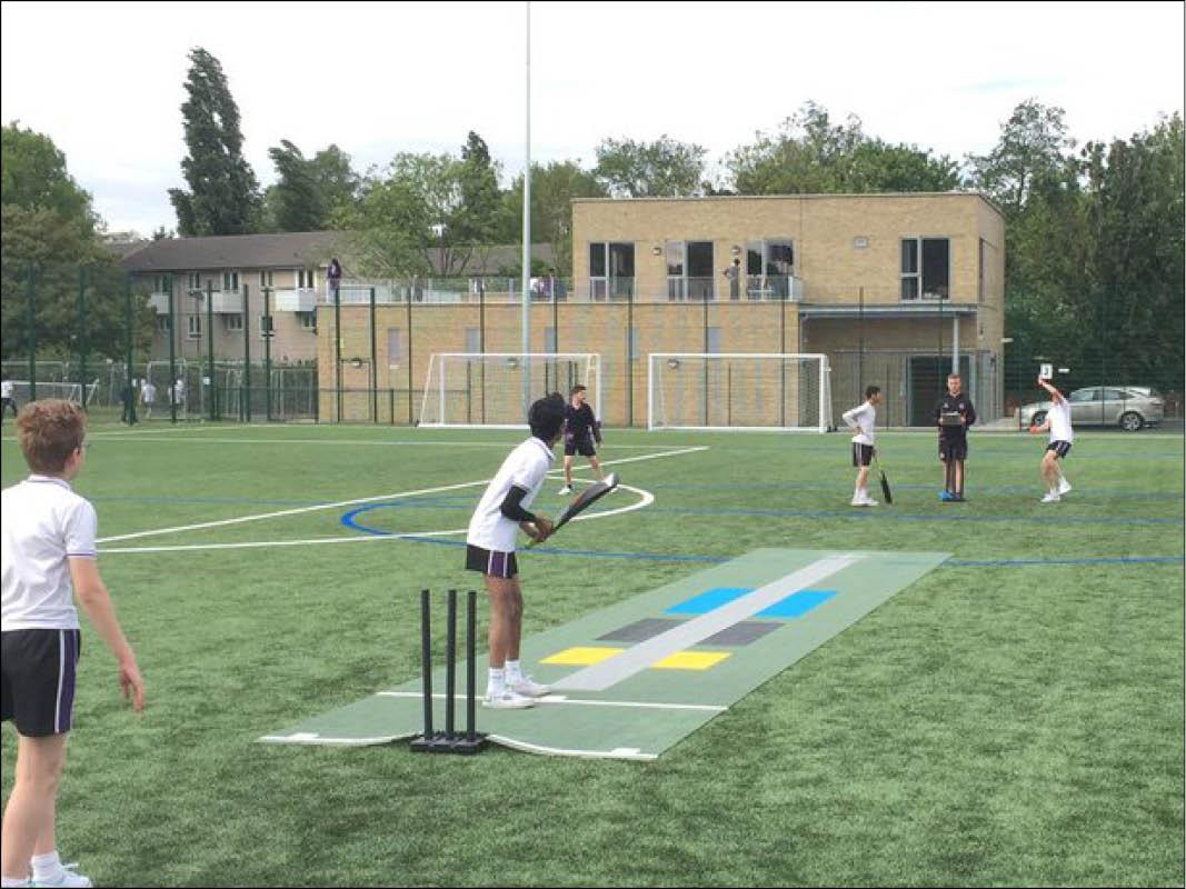 Skills Pitch at School