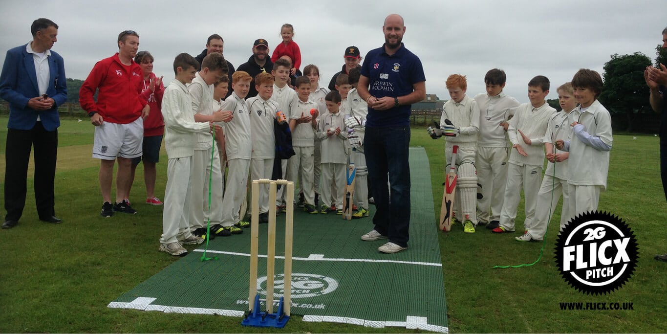 Chris Rushworth opens the pitch
