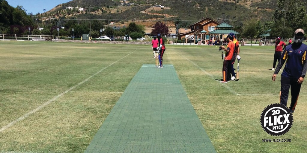 Flicx Pitch fix for the San Diego Cricket Association