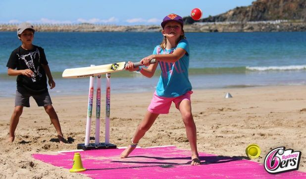 Sydney Sixers Beach Cricket