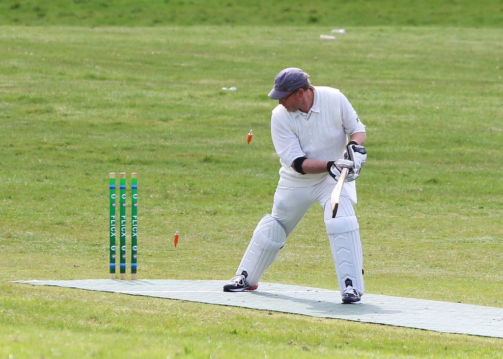 Wicket at Bute CCC