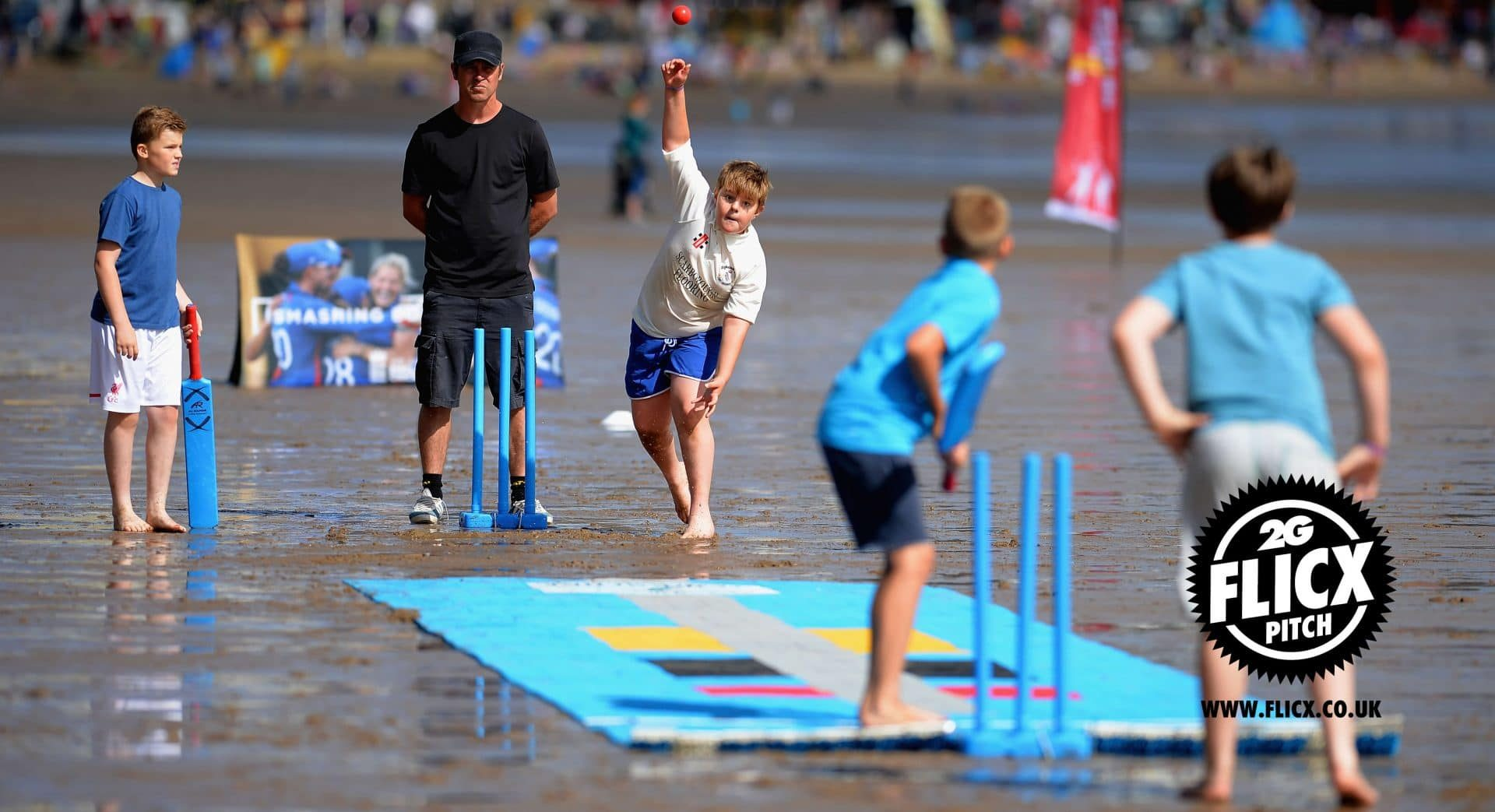 Yorkshire Cricket Foundation Beach Cricket