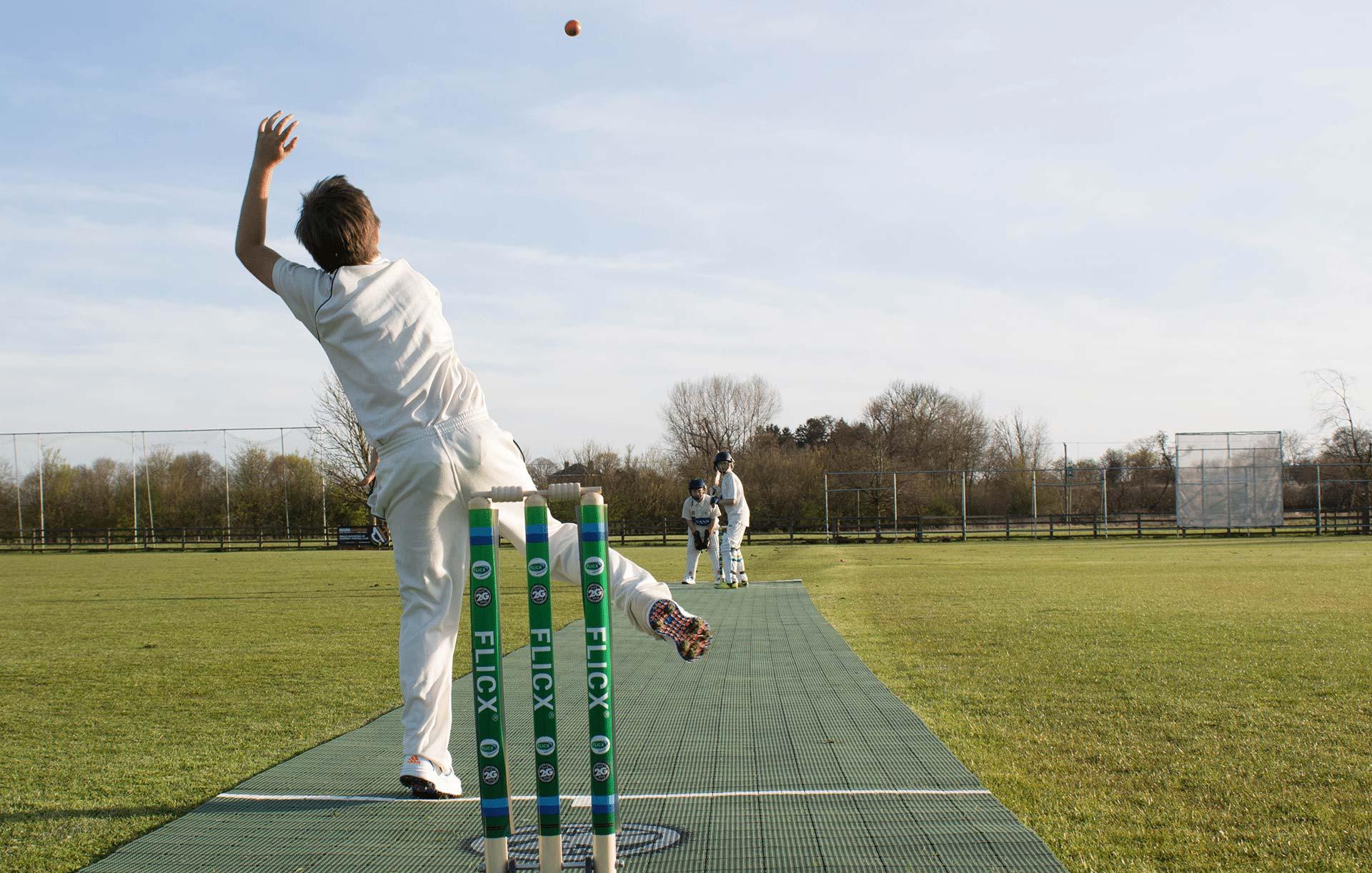 2G Flicx Pitch - Portable Cricket Match Pitch