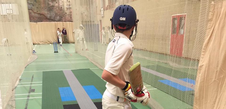 Indoor Cricket Pitch