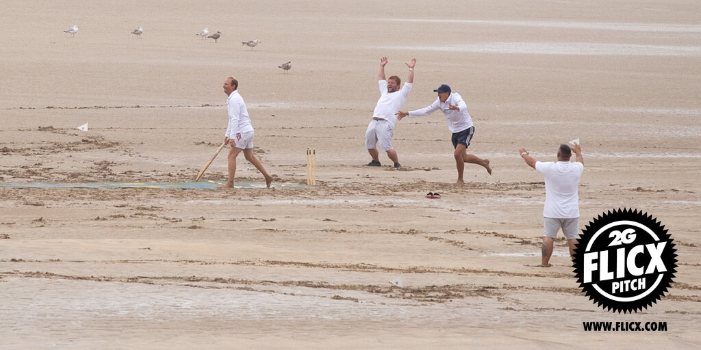 Beach Cricket Pitch