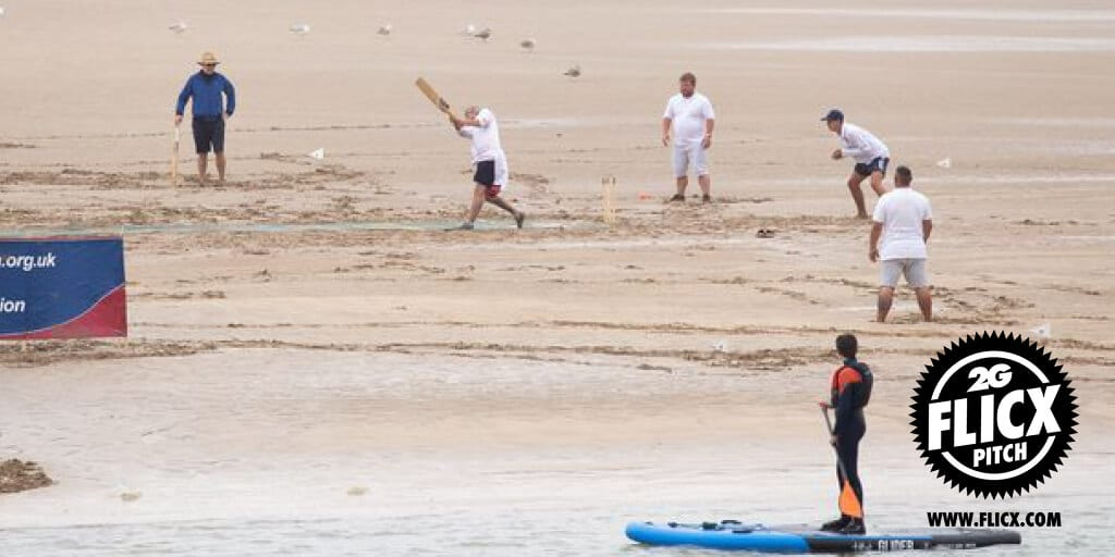 Beach Cricket Pitch