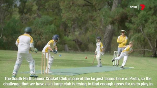 Flicx Pitch at South Perth Junior Cricket Club
