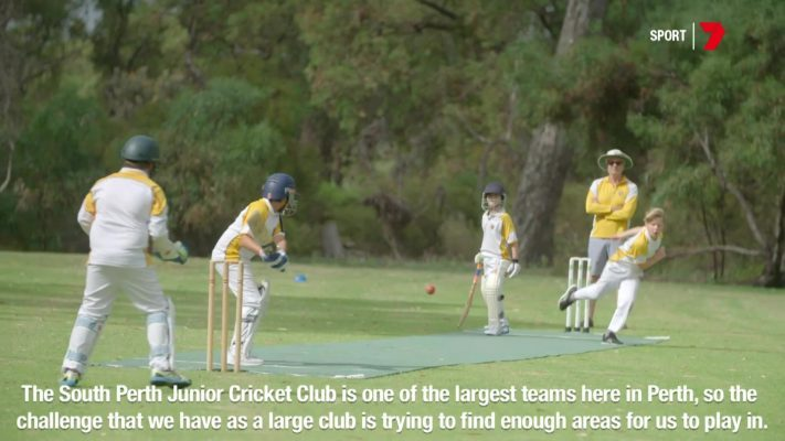 Flicx Pitch at South Perth Junior Cricket Club