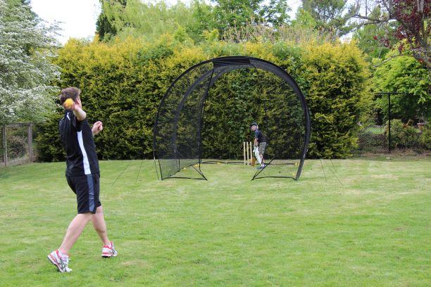 GS5 Batting Net in use