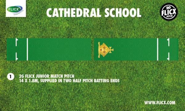 Creating Extra Cricket Nets | Cathedral School Pitch Mockup